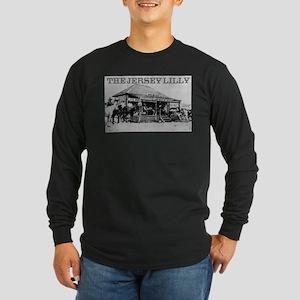 The Jersey Lilly Long Sleeve Dark T-Shirt