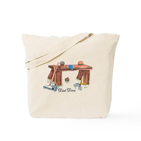 GARDENING DIRT DIVA Tote Bag