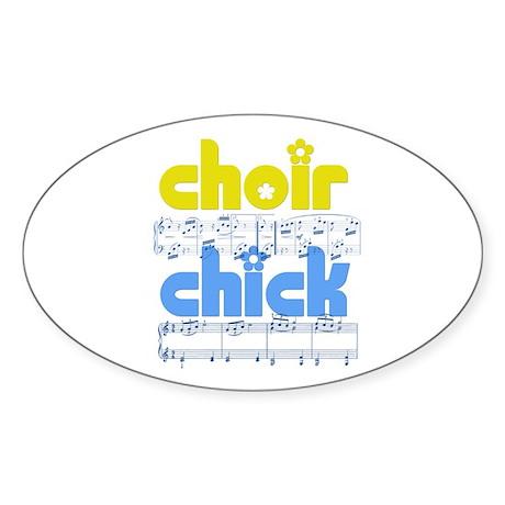 Choir Chick Sticker