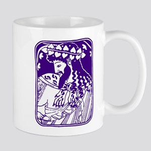 Purple Bacchus Mug
