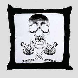 Skull & Crosstones Throw Pillow
