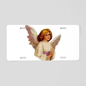 Angel illustration 6 Aluminum License Plate