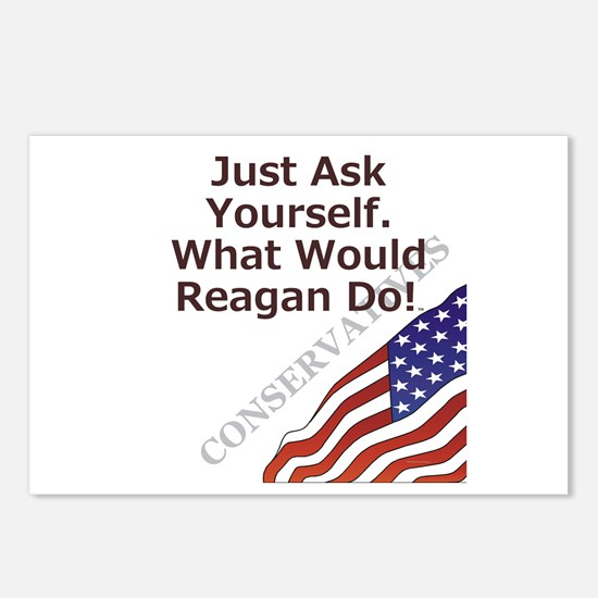 Conservative Mantra Postcards (Package of 8)