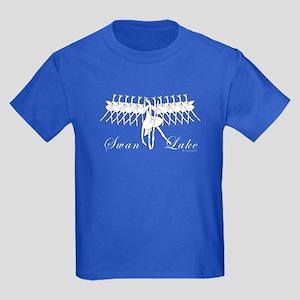 Ballet Swan Lake Kids Dark T-Shirt