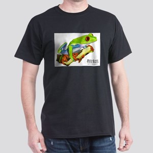 Red Eyed Tree Frog Dark T-Shirt