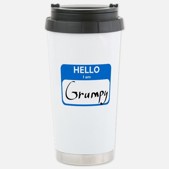 Grumpy Stainless Steel Travel Mug