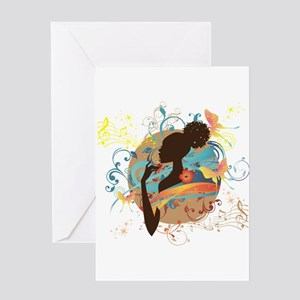 Musical Dream Greeting Card