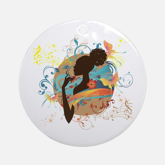 Musical Dream Ornament (Round)
