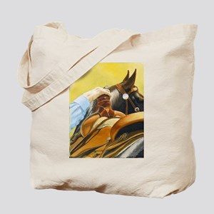 """""""SADDLED"""" Tote Bag"""