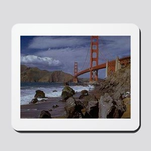 Golden Gate from the Pacific Mousepad