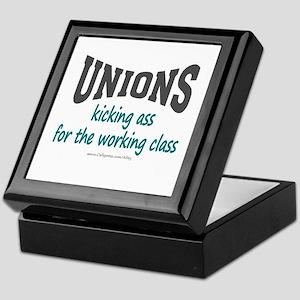 Unions Kicking Ass Keepsake Box