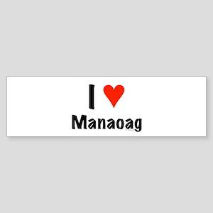 I love Manaoag Bumper Sticker