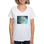 Floating Tools Women's V-Neck T-Shirt