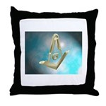 Floating Tools Throw Pillow