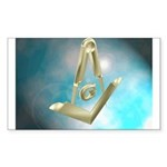 Floating Tools Rectangle Sticker 50 pk)