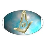 Floating Tools Oval Sticker (10 pk)