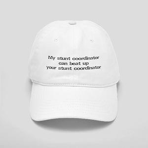 My stunt coordinator can beat up... Cap