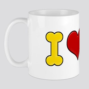 I Heart Dachshunds Mug