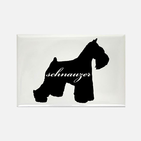 Schnauzer DESIGN Rectangle Magnet