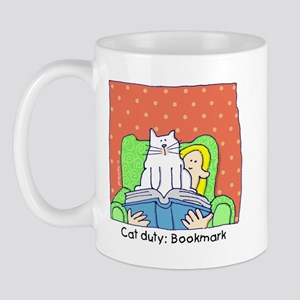 Cat Duty: Bookmark Mug