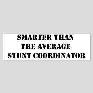 Average stunt coordinator Bumper Sticker