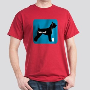 iWoof Schnauzer Dark T-Shirt