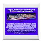 Article-V-Convention.com Tile Coaster