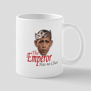 Emperor Has No Clues Mug