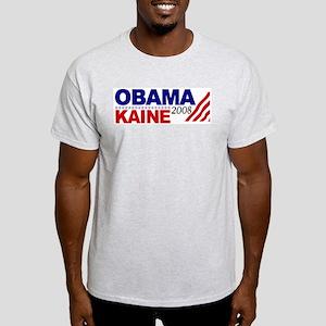 Obama Kaine 2008 Light T-Shirt