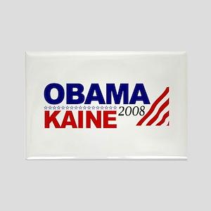Obama Kaine 2008 Rectangle Magnet