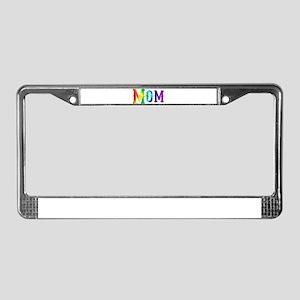 I'm a Mom License Plate Frame
