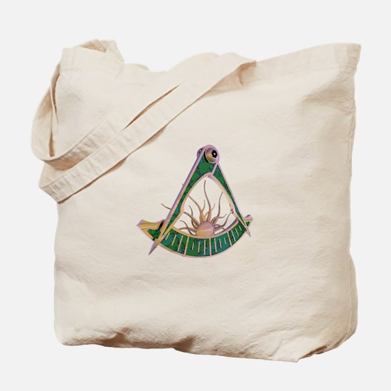 Past Master F&AM Tote Bag