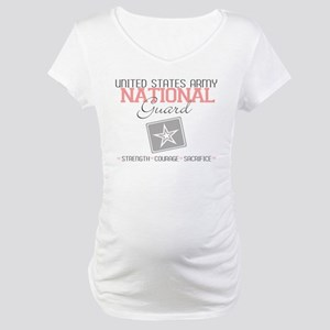 United States Army National G Maternity T-Shirt