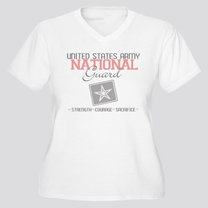 United States Army National G Women's Plus Size V-