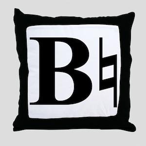 Be Natural Throw Pillow