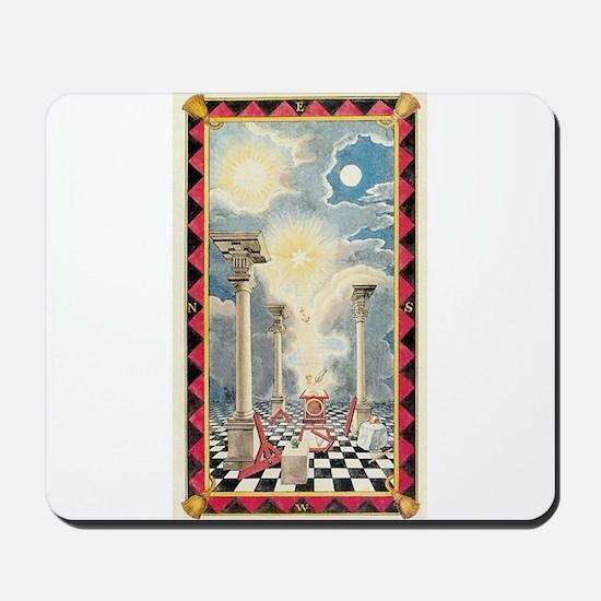 Masonic Light Mousepad