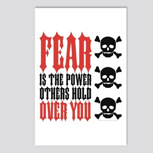 The Power of Fear Postcards (Package of 8)