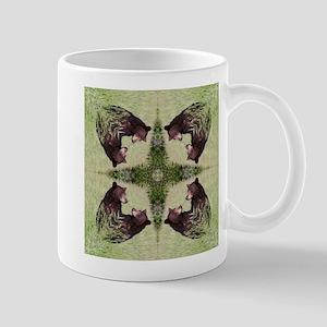 Black Bear Mandala Mug