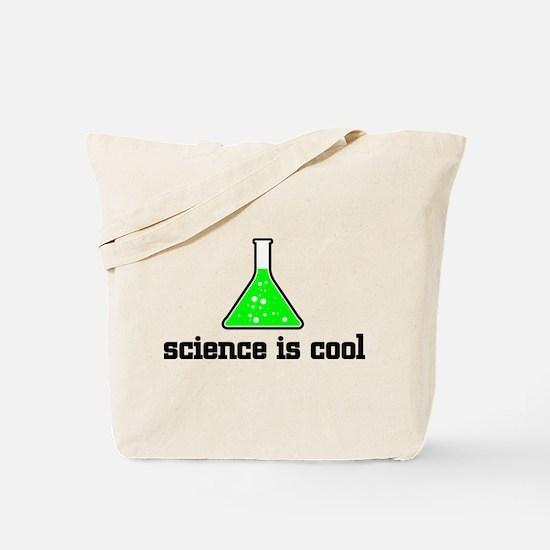 Science is cool Tote Bag