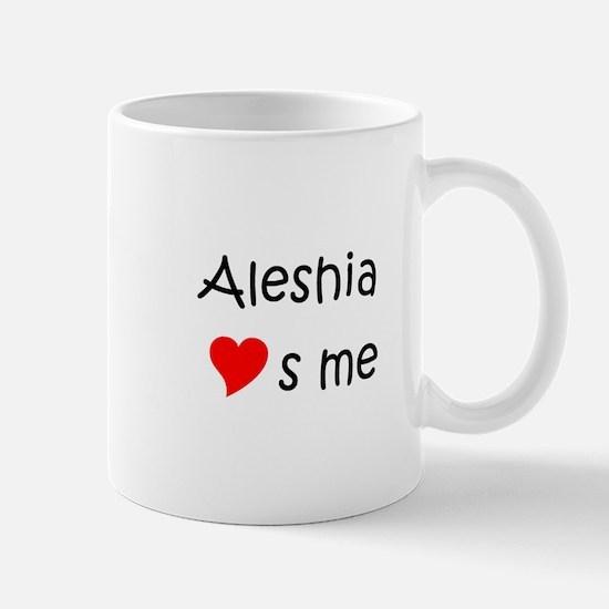 Aleshia Mug