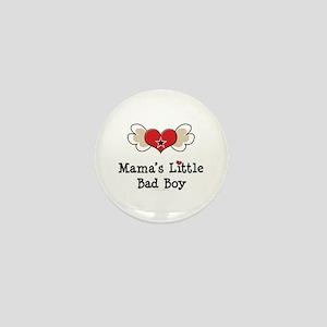 Mama's Little Bad Boy Mini Button