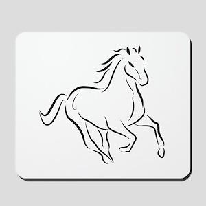 Running Horse 5 Mousepad
