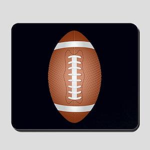 Football ball Mousepad