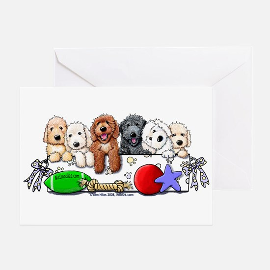 McDoodles Nursery Greeting Card