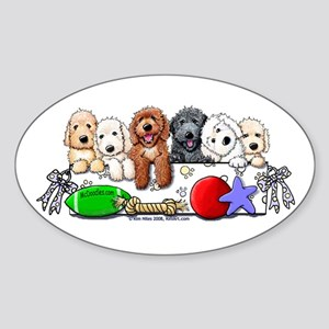 McDoodles Nursery Sticker (Oval)