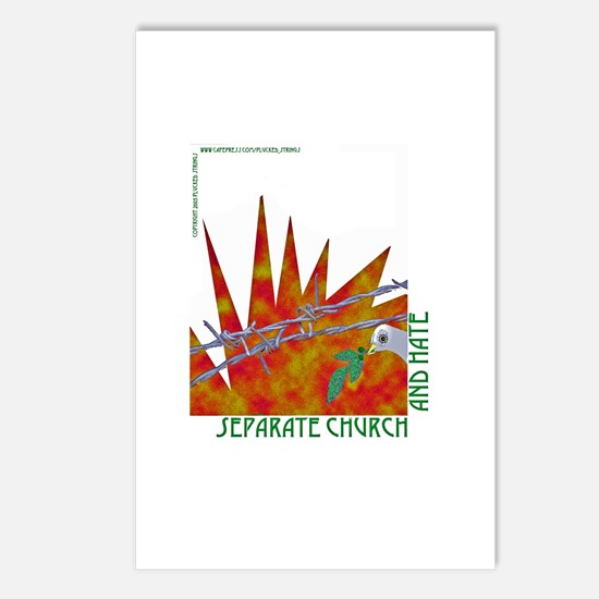 Separation of Church and Hate Postcards (Package o