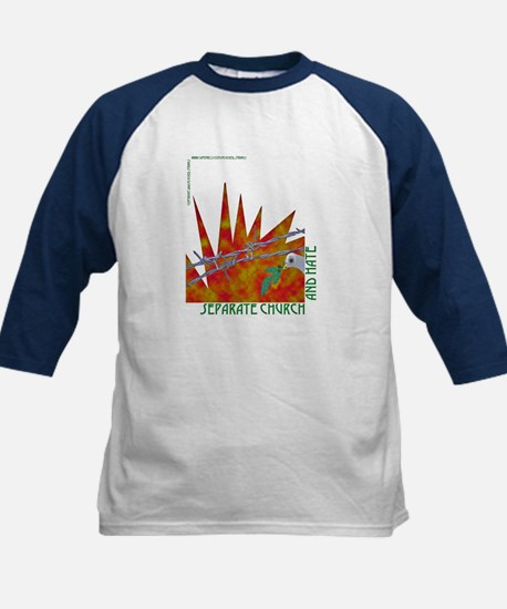 Separate Church and Hate Kids Baseball Jersey