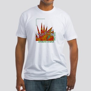 Separate Church and Hate Fitted T-Shirt