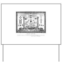 Scottish Freemasonry Yard Sign