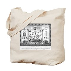 Scottish Freemasonry Tote Bag